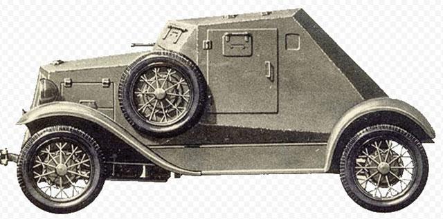 Бронеавтомобилей Д-8 на базе ГАЗ А