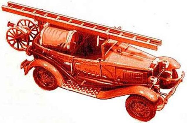 Пожарная машина на базе ГАЗ-А