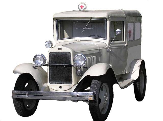 Автомобиль скорой помощи на базе ГАЗ А