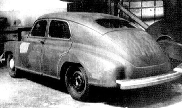 Макет ГАЗ М20